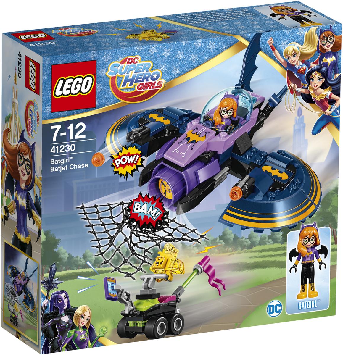 LEGO DC Super Hero Girls 41230 Бэтгерл погоня на реактивном самолете Конструктор lego super heroes 41230 лего супер хироус бэтгёрл погоня на реактивном самолёте