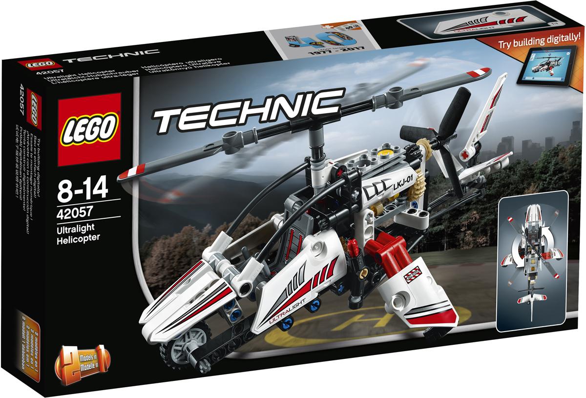 LEGO Technic 42057 Сверхлегкий вертолет Конструктор