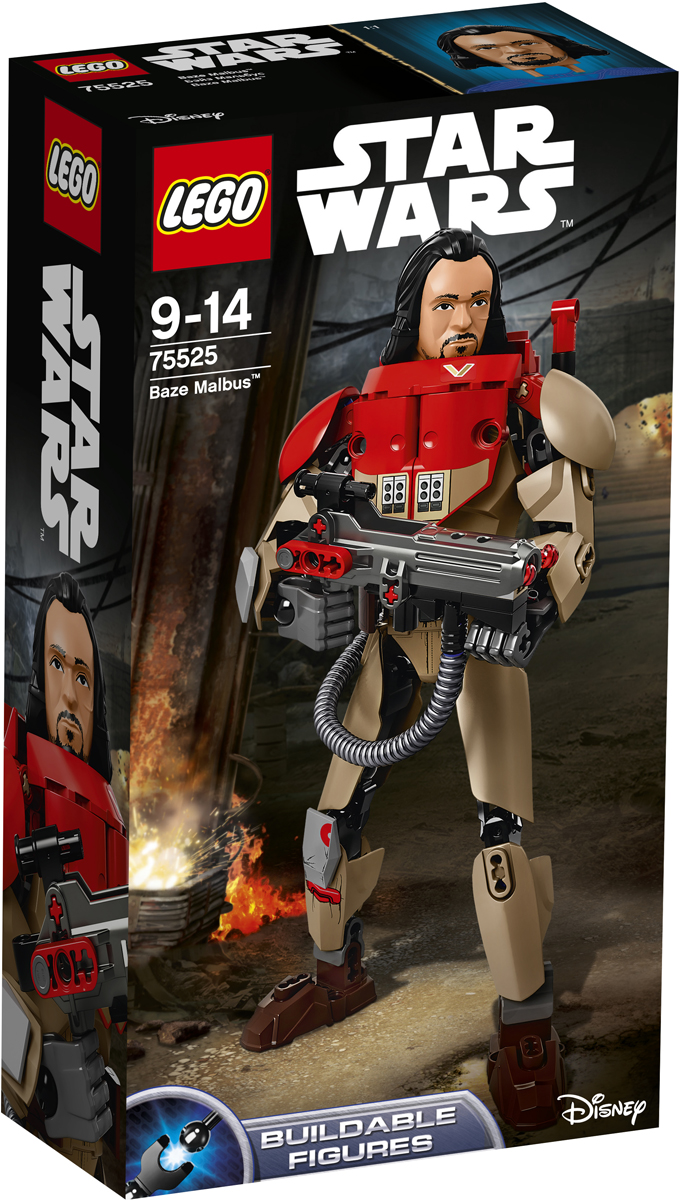 LEGO Star Wars Фигурка-конструктор Бэйз Мальбус 75525
