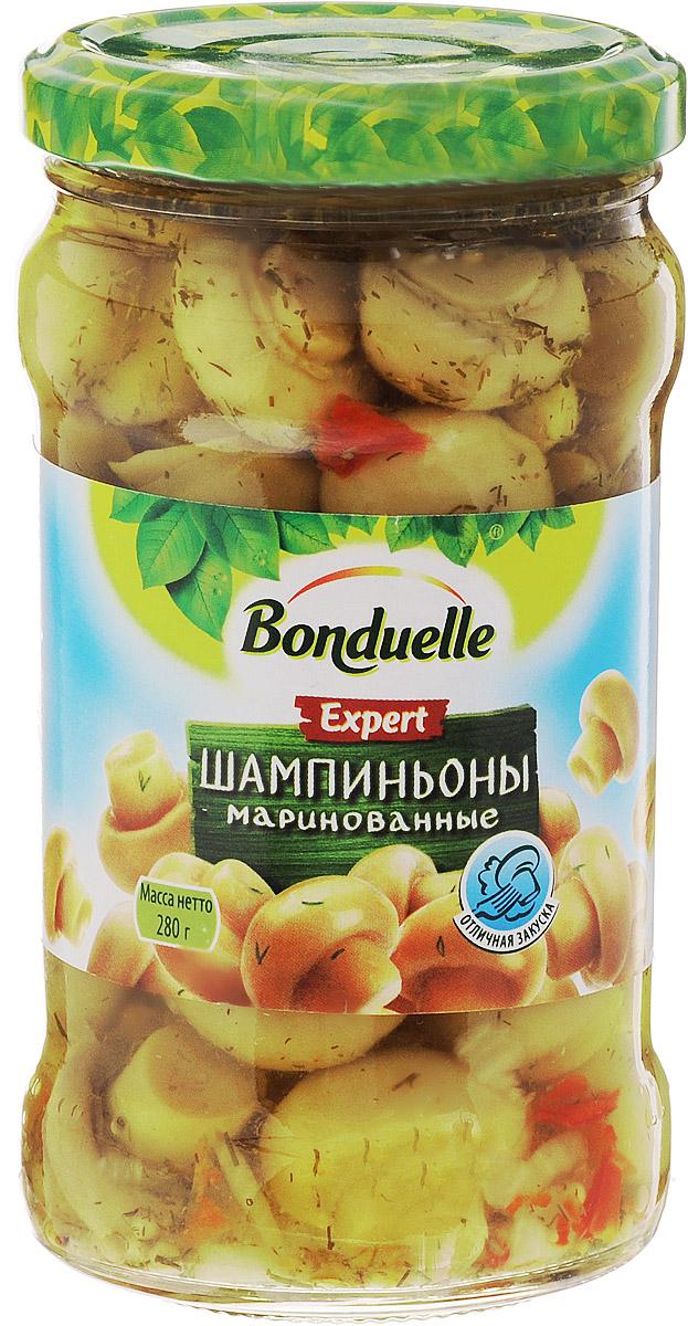 Bonduelle шампиньоны маринованные, 280 г кукуруза bonduelle сладкая 340г