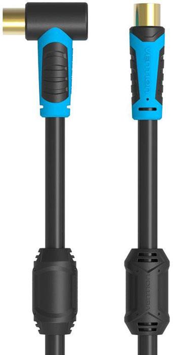 Vention VAV-A02-B100 антенный кабель угловой (1 м) кабель антенный vention m m угол 90 1 5м vav a02 b150