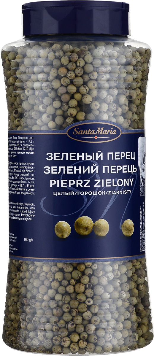 цена на Santa Maria Зеленый перец целый, 160 г