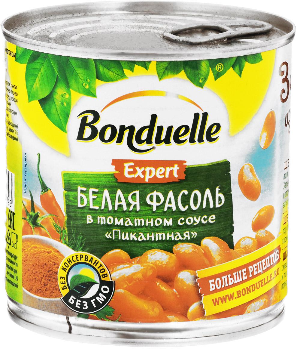 """Bonduelle белая фасоль в томатном соусе """"Пикантная"""", 400 г"""