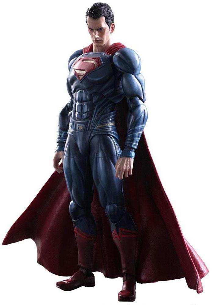 Batman v Superman: Dawn Of Justice. Фигурка Play Arts Kai Superman 27 см стоимость