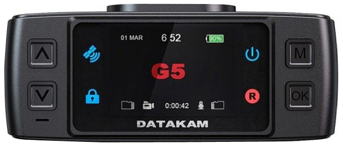Datakam G5-City Max BF Limited, Black видеорегистратор
