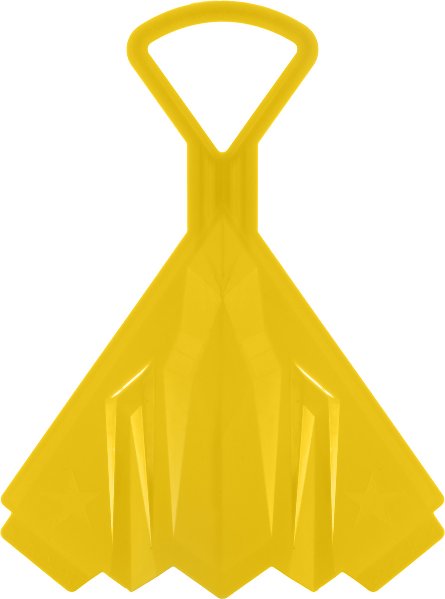ледянки Санки-ледянки Престиж Самолет, цвет: желтый, 42 х 32 см