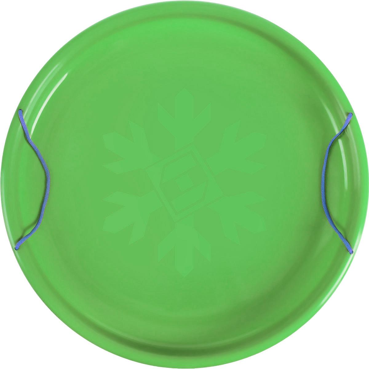 Санки-ледянки Престиж Экстрим, цвет: зеленый, диаметр 53 см
