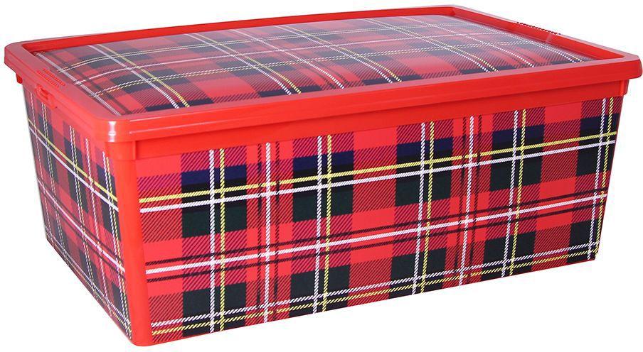 Ящик Idea Деко. Клетка, 10 л jd коллекция дефолт обновление раздела ящик для хранения небольшого ящика 3