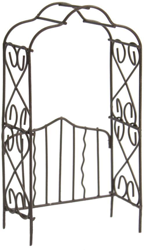 Декоративное украшение-миниатюра Астра Арка, цвет: коричневый украшение декоративное музыка ветра цвет коричневый 3330041
