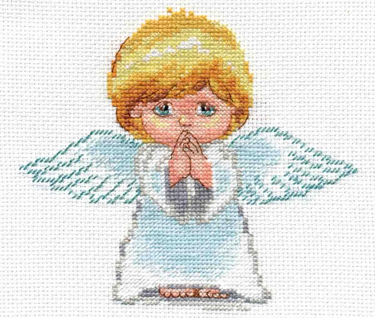 """Набор для вышивания крестом Алиса """"Мой ангел"""", 14 х 13 см"""