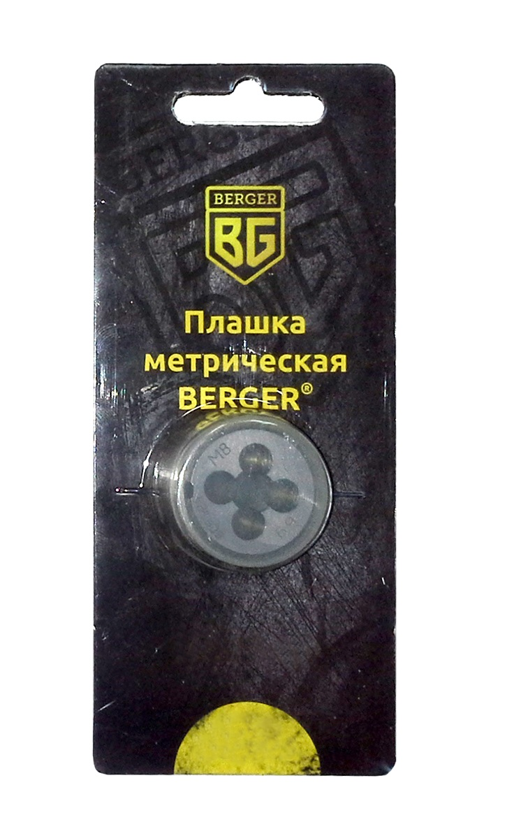 Плашка метрическая Berger, М14 х 1,25 мм. BG1013