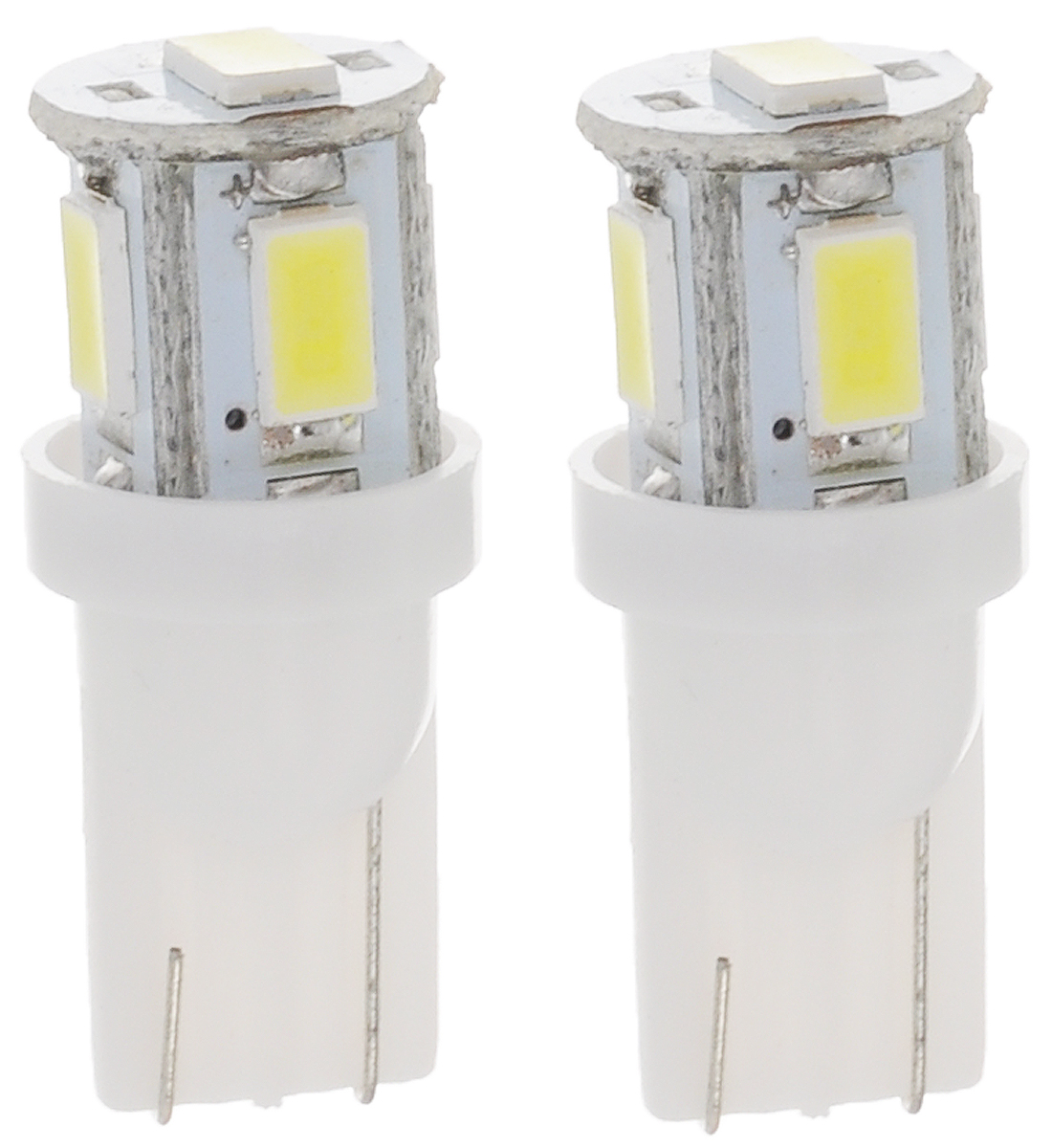 Лампа автомобильная Skyway, светодиодная, цоколь T10 (W5W), 12Вт, 2 шт лампа светодиодная skyway st10 1ledb вогнутая w блистер 2шт