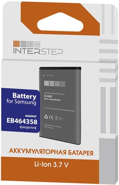Interstep аккумулятор для Samsung Galaxy Y Duos S6102/Galaxy Mini 2 S6500 (1450 мАч) цена