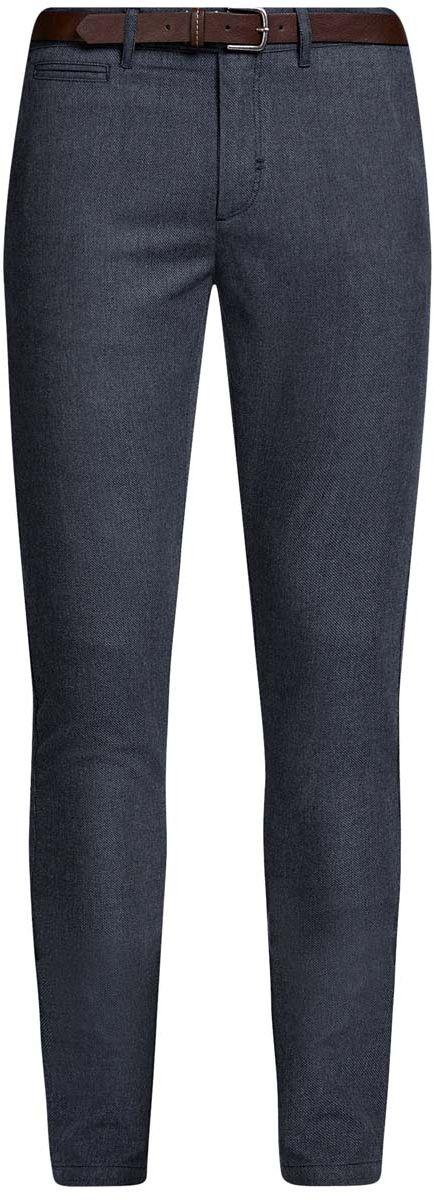 Брюки oodji Lab брюки мужские oodji lab цвет темно синий 2l200164m 46265n 7900j размер 38 182 46 182