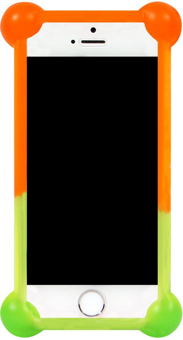 IQ Format Rainbow универсальный чехол для смартфонов с диагональю 3,5-4,7 бампер силиконовый iq format дисней лукас минни 2