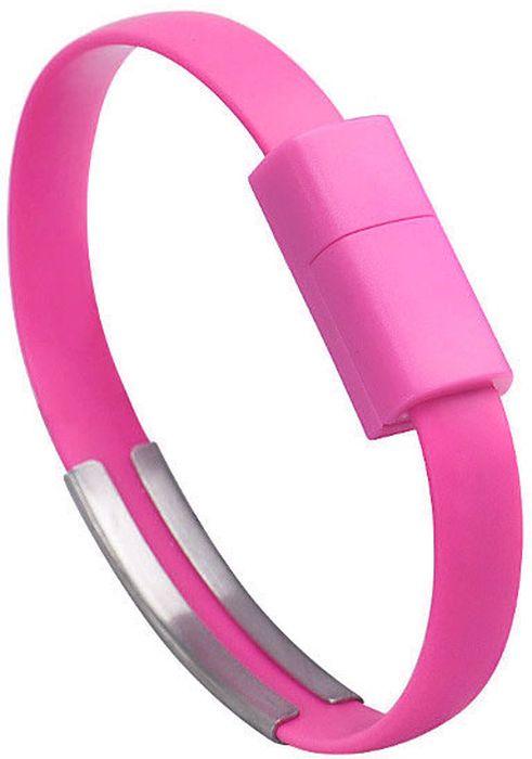 IQ Format, Pink кабель-браслет USB-Lightning