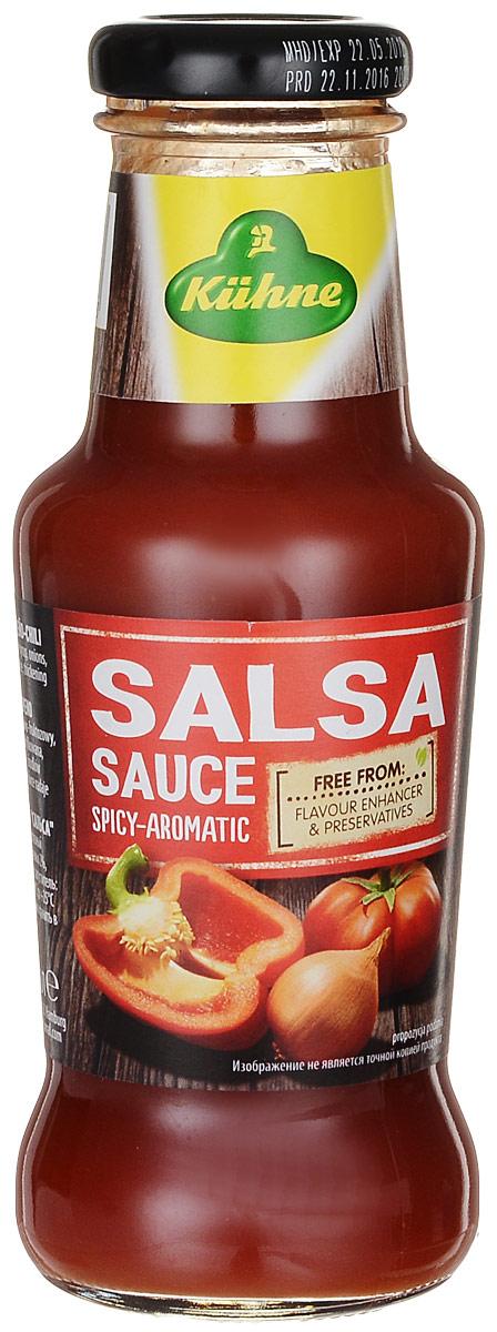 Kuhne Spicy Sauce Salsa соус томатный сальса, 250 г цена