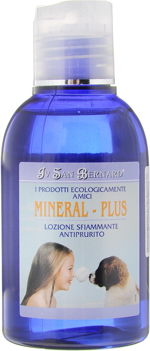 Лосьон для кошек и собак Iv San Bernard Mineral - Plus, против воспаления и зуда, 125 мл крем против зуда