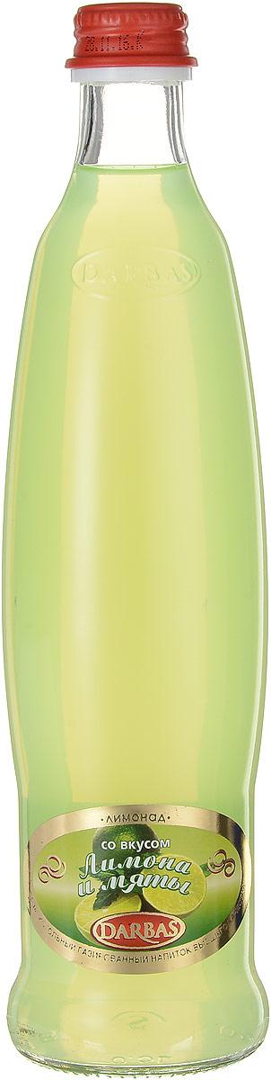 Darbas Лимон-мята лимонад, 0,5 л мингаз лимонад напиток 0 5 л