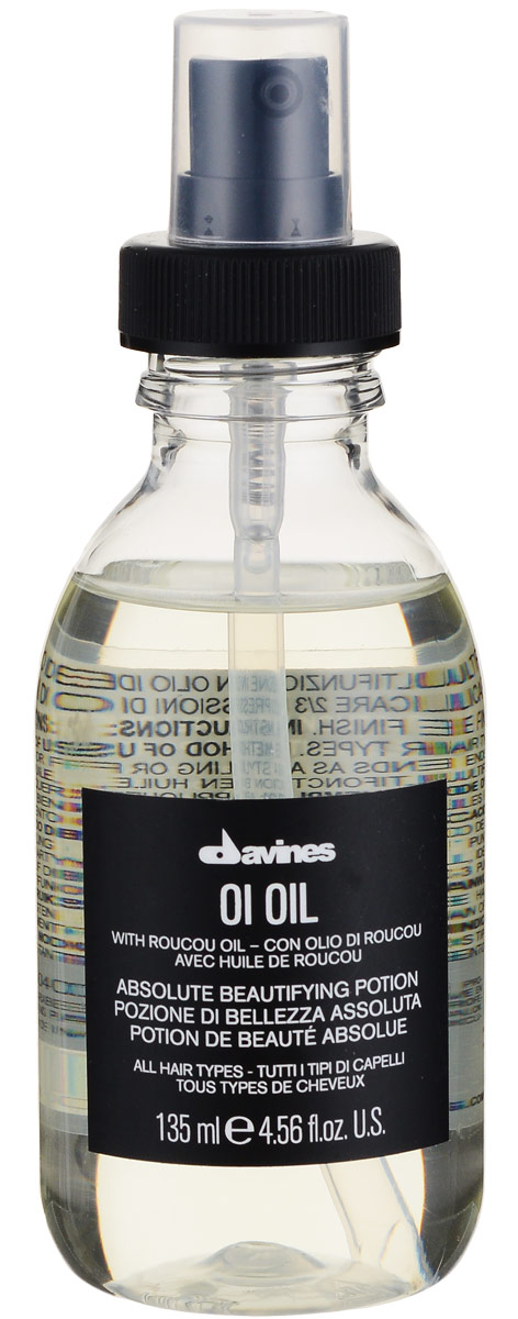Davines Масло для абсолютной красоты волос Essential Haircare Ol Oil Absolute beautifying potion, 135 мл