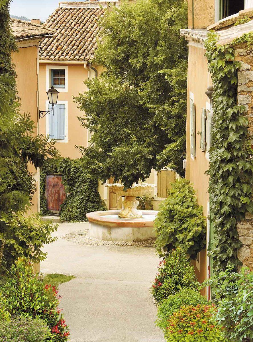 Фотообои Milan Уютный дворик, текстурные, 200 х 270 см фотообои milan ночное ожидание текстурные 200 х 270 см m 214