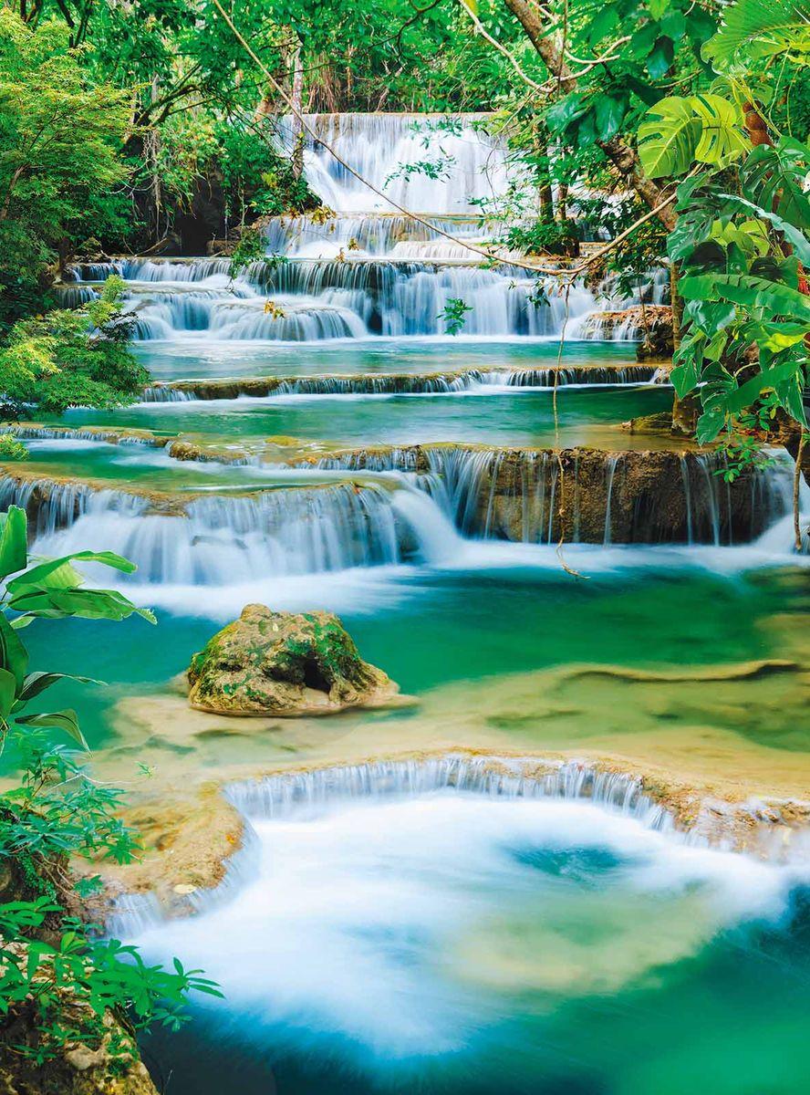 Фотообои Milan Спокойный водопад, текстурные, 200 х 270 см. M 222 фотообои milan ракушка текстурные 100 х 270 см m 120