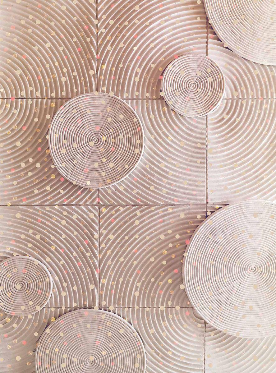 Фотообои Milan Спирали, текстурные, 200 х 270 см. M 223 фотообои milan ночное ожидание текстурные 200 х 270 см m 214