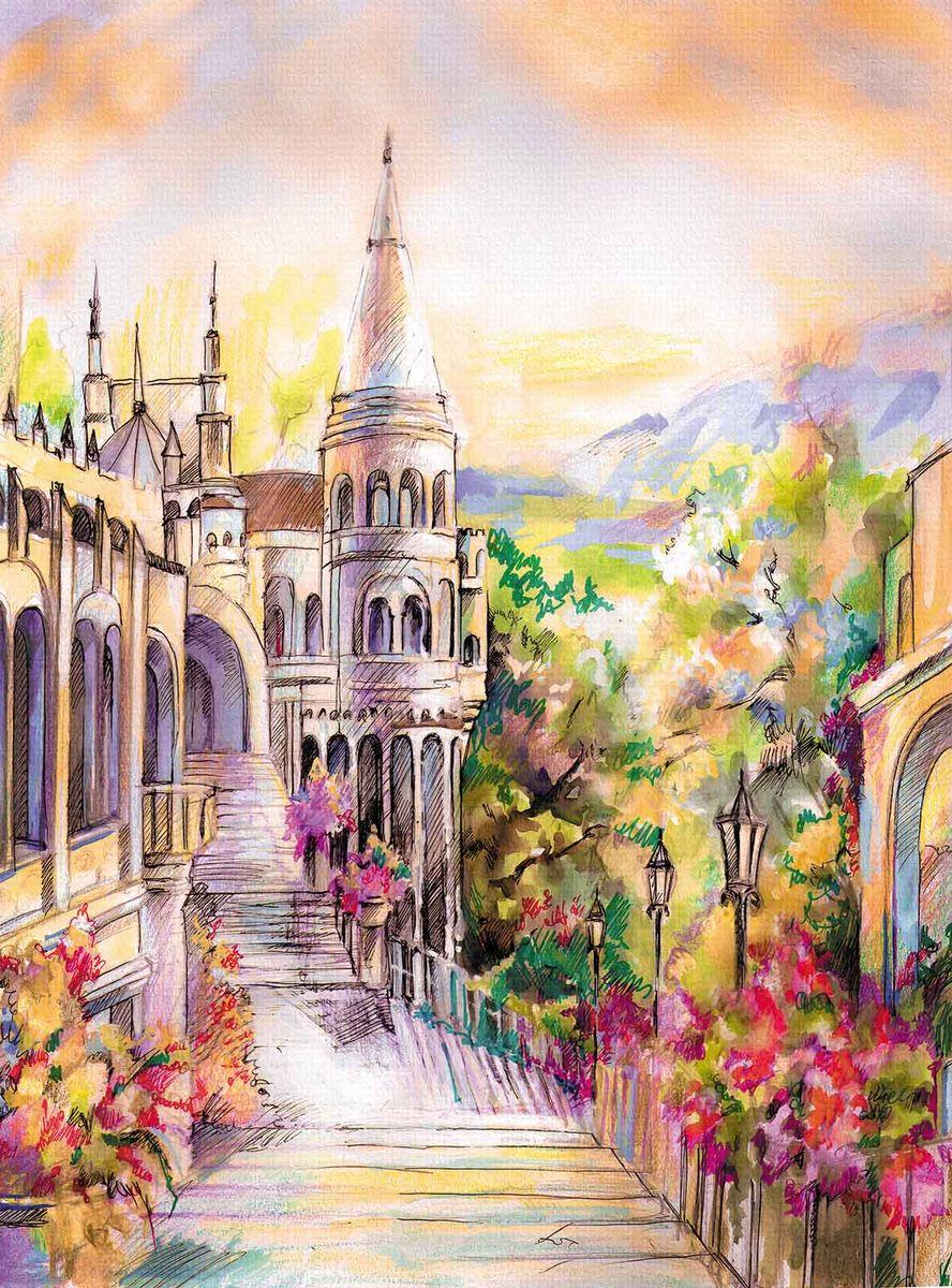 Фотообои Milan Сказочный замок, текстурные, 200 х 270 см фотообои milan ночное ожидание текстурные 200 х 270 см m 214
