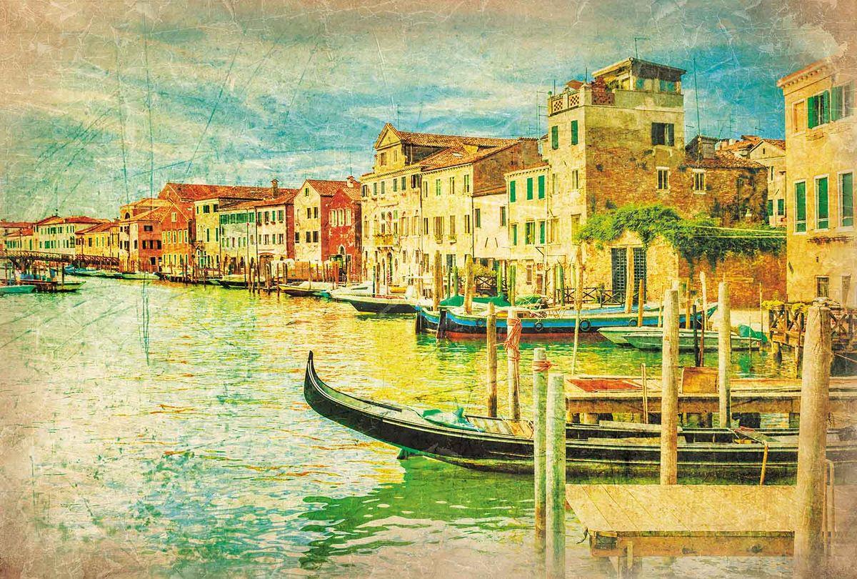 Фотообои Milan Фреска. Венеция, текстурные, 200 х 135 см. M 632 фотообои milan текстура дерева текстурные 200 х 135 см m 622