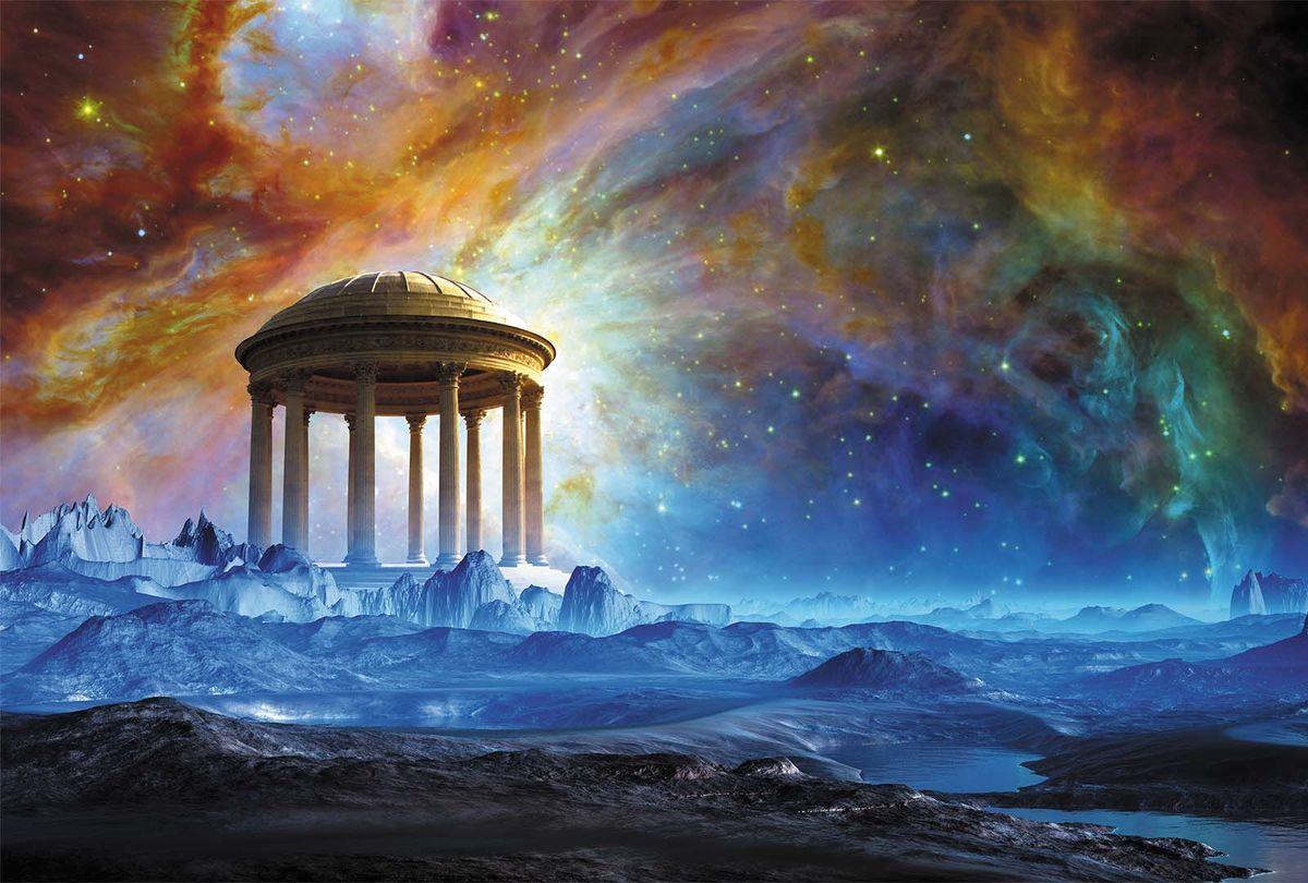 Фотообои Milan Космический портал, текстурные, 200 х 135 см. M 634 фотообои milan ромашки текстурные 200 х 135 см m 619