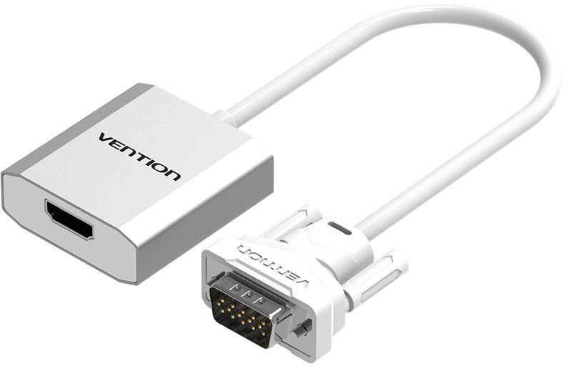 лучшая цена Мультимедиа конвертер Vention VGA + аудио / HDMI ACEW0