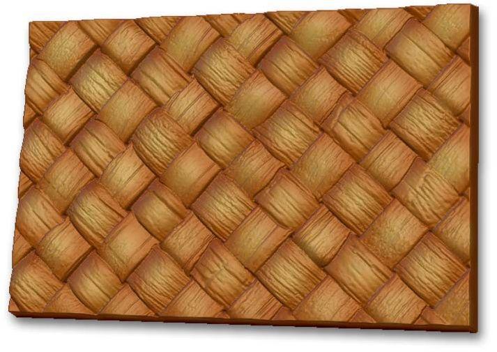 Форма для мыла Выдумщики Текстурный лист. Плетение (Береста), 10 х 15 х 1 см форма для мыла выдумщики букет тюльпанов пластиковая цвет прозрачный