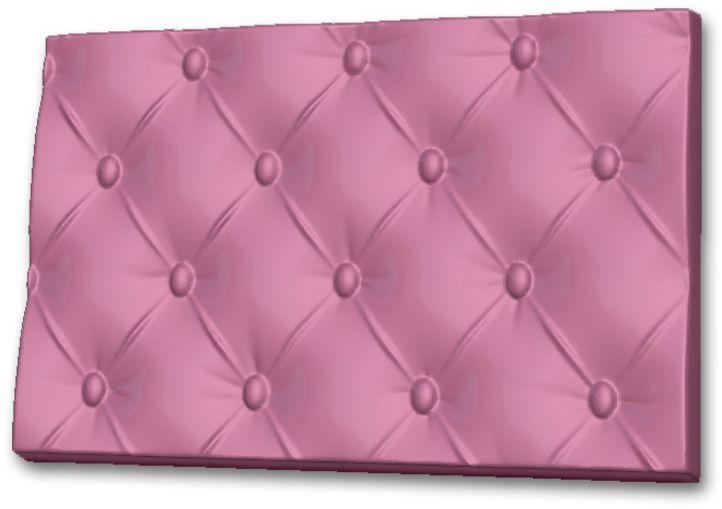 Форма для мыла Выдумщики Текстурный лист. Пуфик, 10 х 15 х 1 см форма для мыла выдумщики букет тюльпанов пластиковая цвет прозрачный