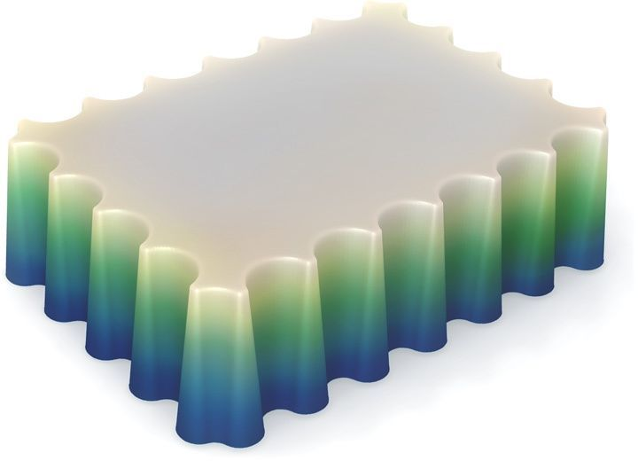 Форма для мыла Выдумщики Волнорез, 6,5 х 9 х 2 см форма для мыла выдумщики букет тюльпанов пластиковая цвет прозрачный