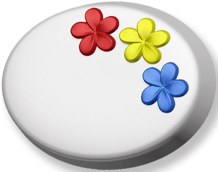 Форма для мыла Выдумщики Незабудки, профессиональная, 6 х 9 х 2,5 см форма для мыла выдумщики букет тюльпанов пластиковая цвет прозрачный