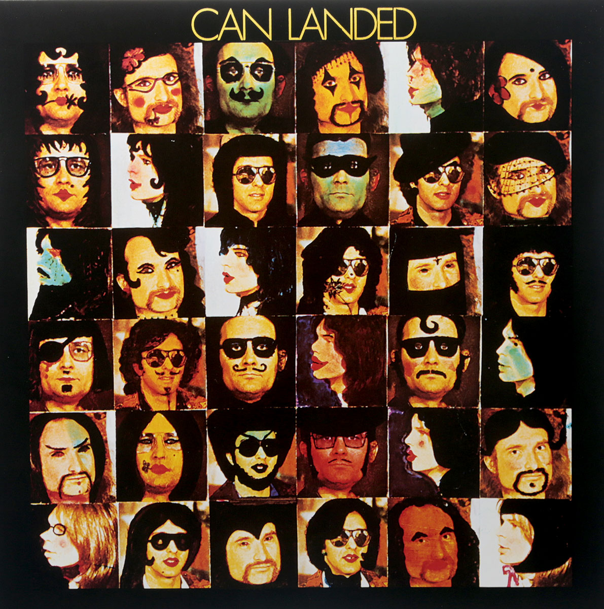 Can Can. Landed (LP) can can monster movie lp