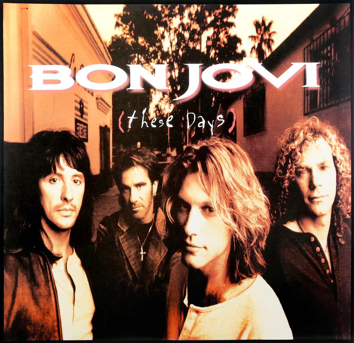 Bon Jovi Bon Jovi. These Days (2 LP) цена