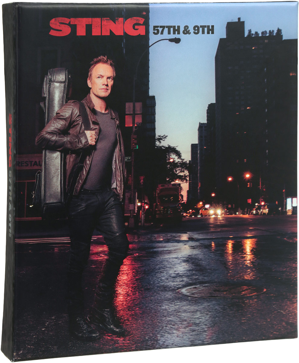 Стинг Sting. 57Th & 9Th. Super Deluxe Edition (CD + DVD) notte magica a tribute to the three tenors deluxe cd dvd