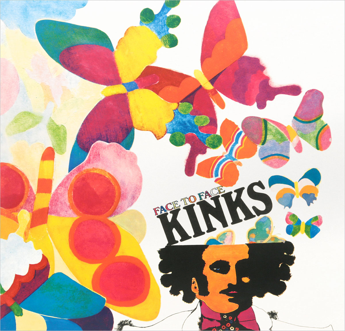 The Kinks The Kinks. Face To Face (LP) the kinks the kinks arthur or the decline and fall of the british empire lp