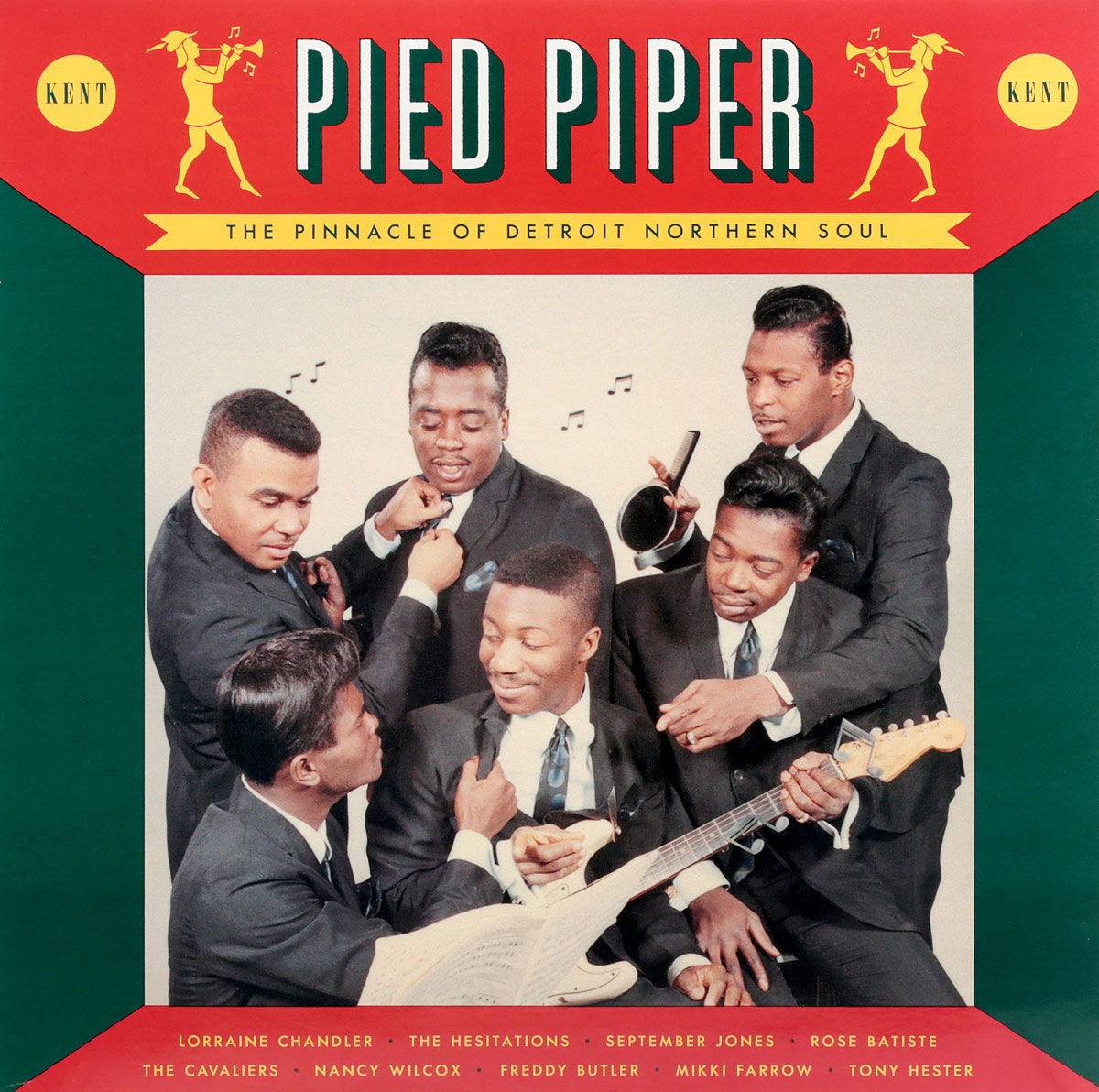 The Cavaliers Pied Piper. The Pinnacle Of Detroit Northern Soul (LP) dave hamilton s detroit dancers lp