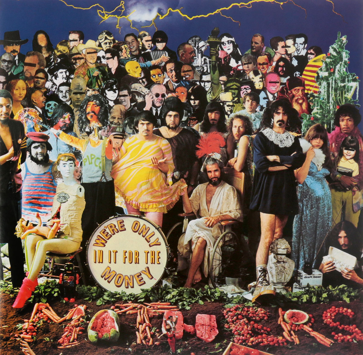 лучшая цена Frank Zappa. We're Only In It For The Money (LP)