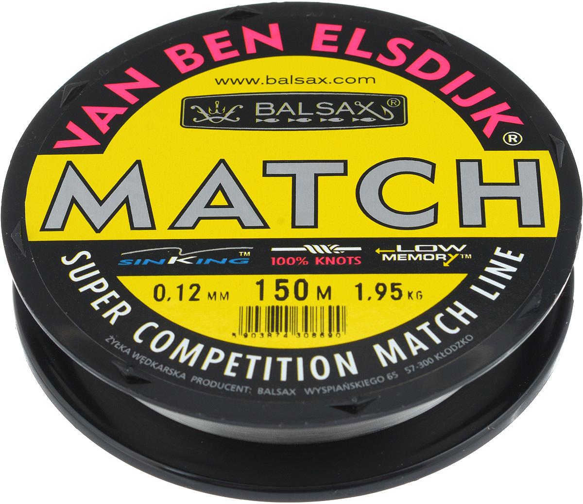 Леска Balsax Match VBE, 150 м, 0,12 мм, 1,95 кг304-10012Опытным спортсменам, участвующим в соревнованиях, нужна надежная леска, в которой можно быть уверенным в любой ситуации. Леска Balsax Match VBE отличается замечательной прочностью на узле и высокой сопротивляемостью к истиранию. Она была проверена на склонность к остаточным деформациям, чтобы убедиться в том, что она обладает наиболее подходящей растяжимостью, отвечая самым строгим требованиям рыболовов. Такая леска отлично подходит как для спортивного, так и для любительского рыболовства.
