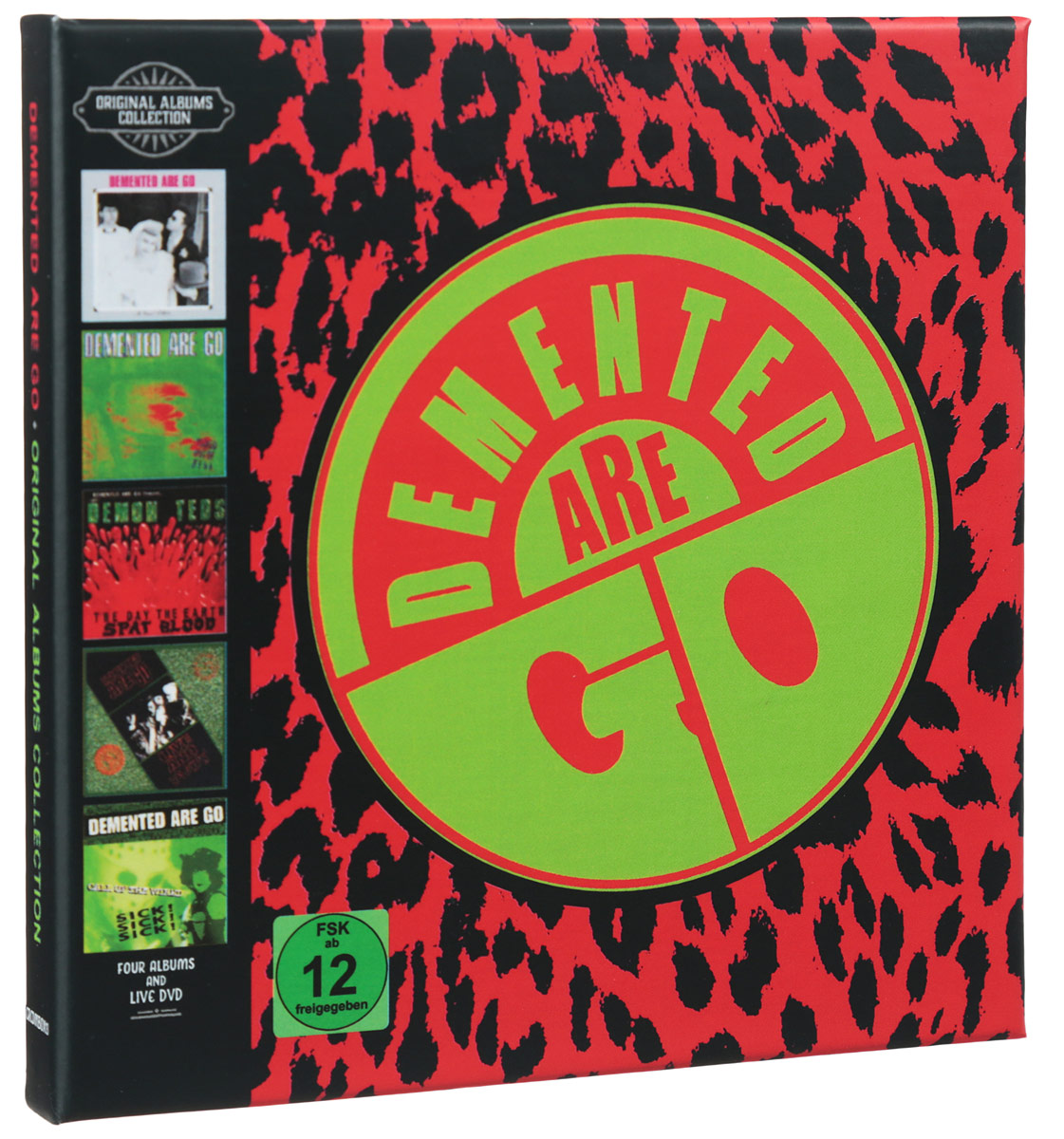 Demented Are Go Demented Are Go. Original Albums Boxset (3 CD + DVD) гардемарины 3 dvd