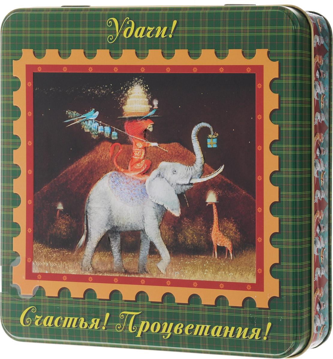 Dolche Vita Слон подарочный набор черного листового чая, 125 г цены онлайн