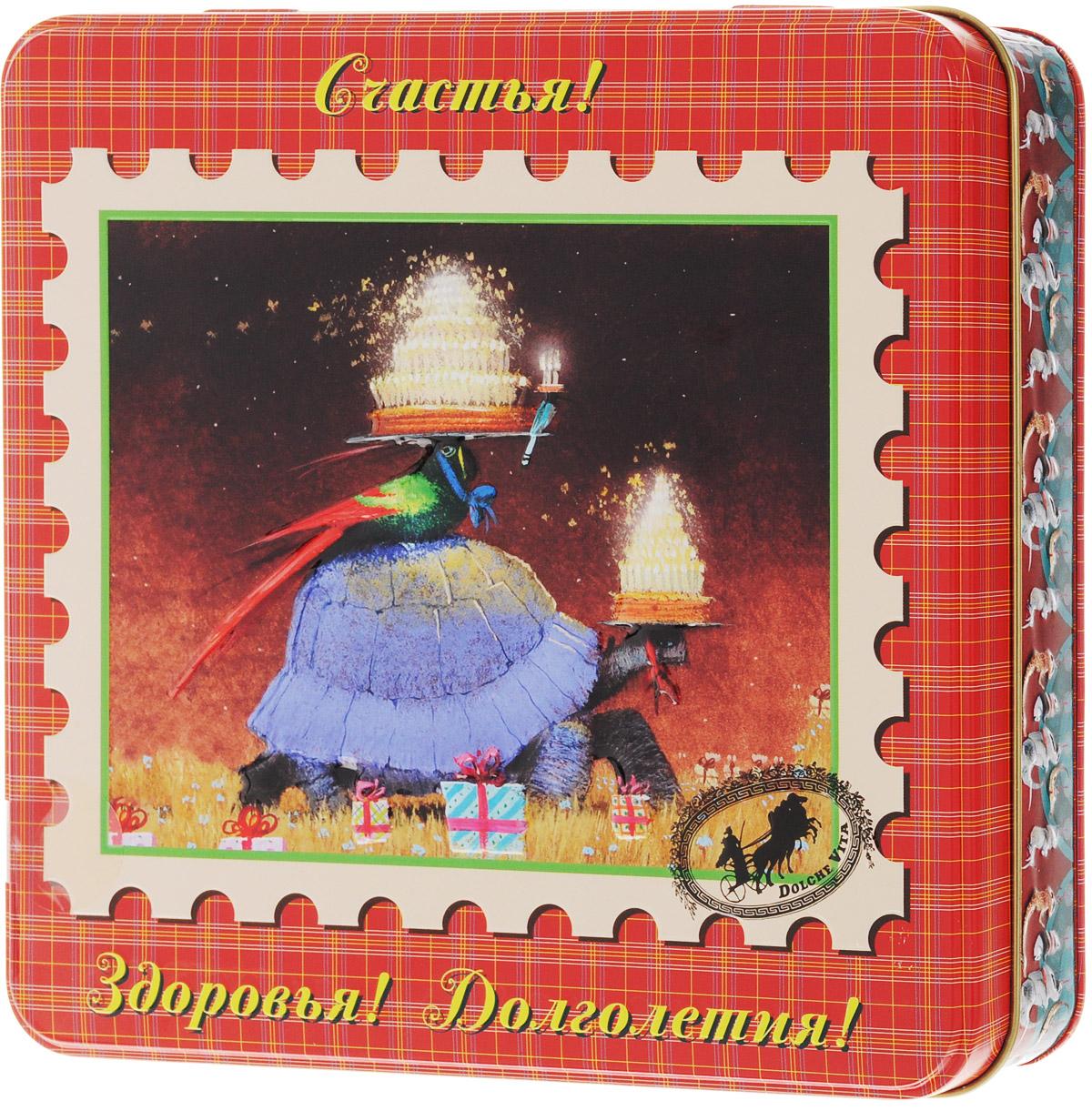 Dolche Vita Черепаха подарочный набор листового чая, 125 г цены онлайн