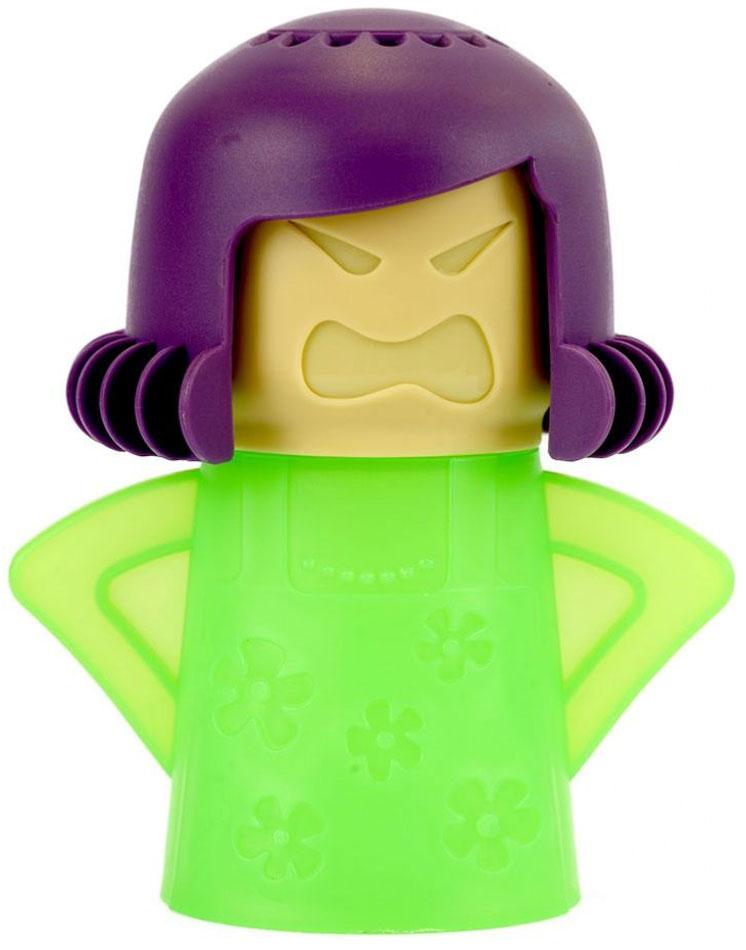 Очиститель микроволновой печи Bradex Грозная мама, цвет: фиолетовый очиститель массажер языка дельтатерм лингва classic цвет фиолетовый