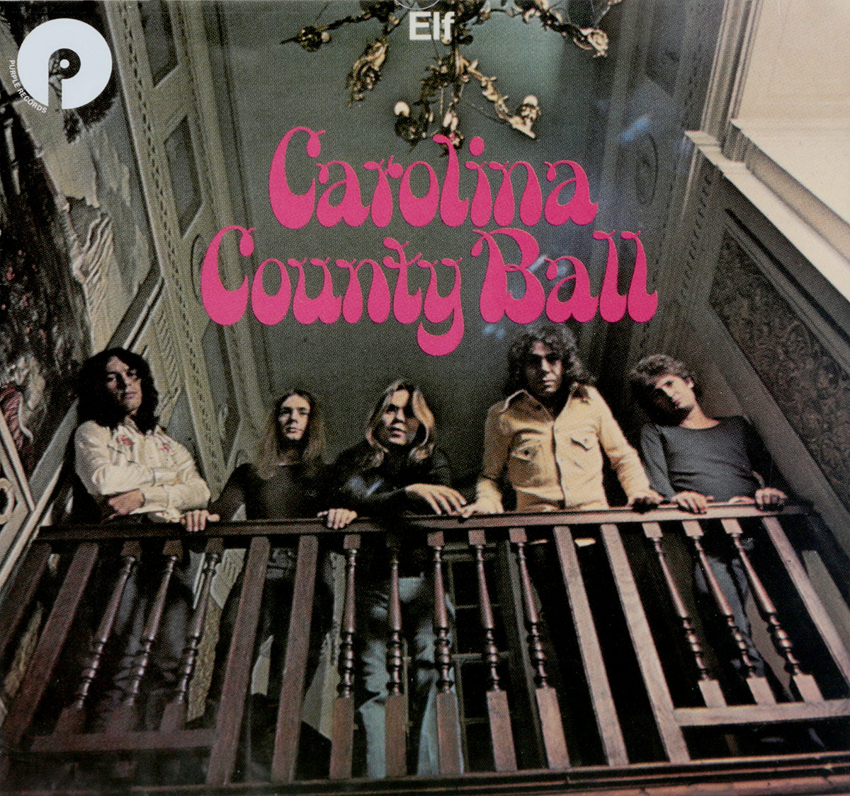 ELF,Ронни Джеймс Дио Elf. Carolina County Ball