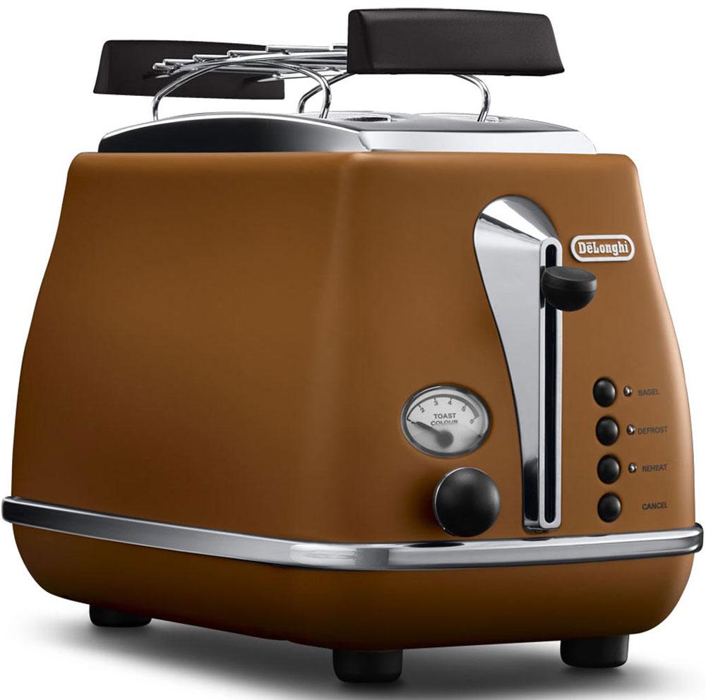 DeLonghi CTOV 2103, Brown тостер