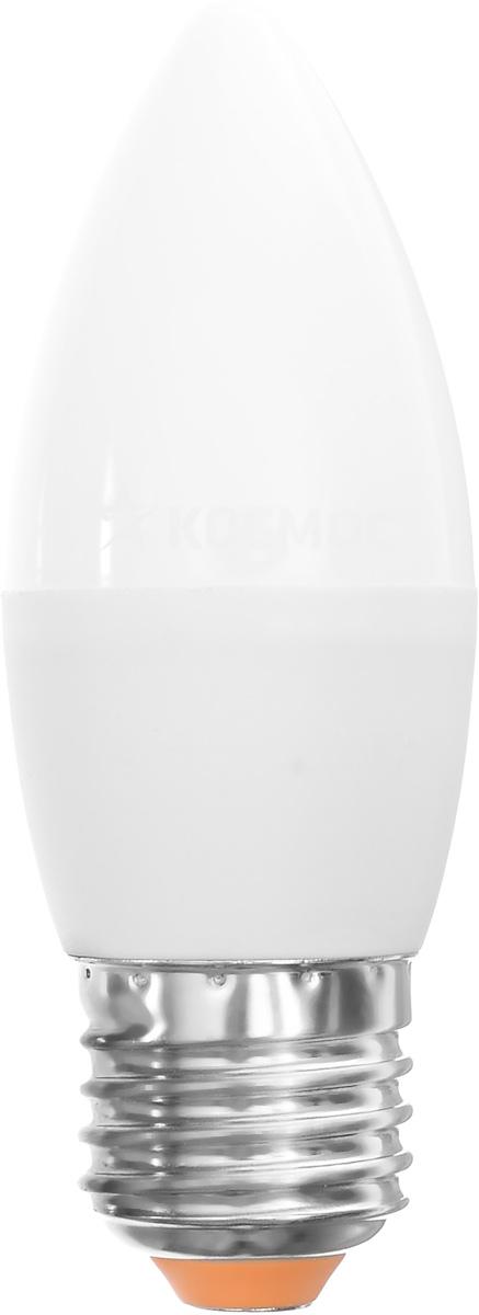 Светодиодная лампа Kosmos, теплый свет, цоколь E27, 7W, 220V. Lksm_LED7wCNE2730