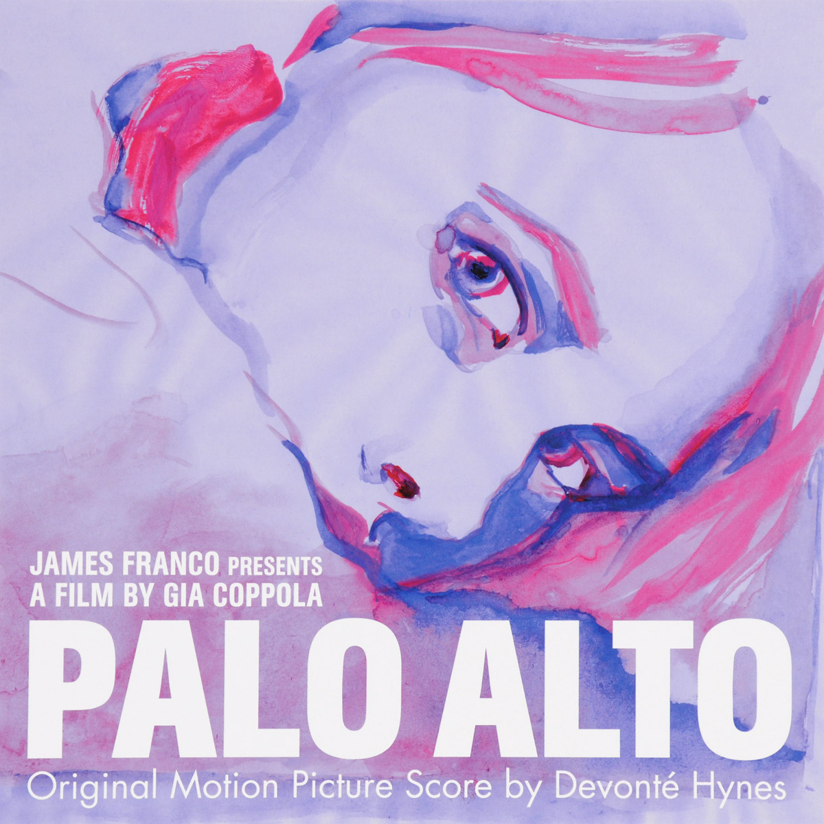Palo Alto Alto. Original Motion Picture Score By Devonte Hynes (LP)